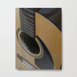 My Guitar Sound Metal Print