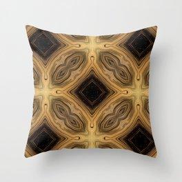 Gold Pattern 03 Throw Pillow