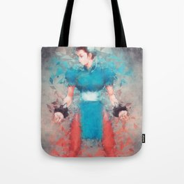 Street Fighter 2 - Chung Le Tote Bag
