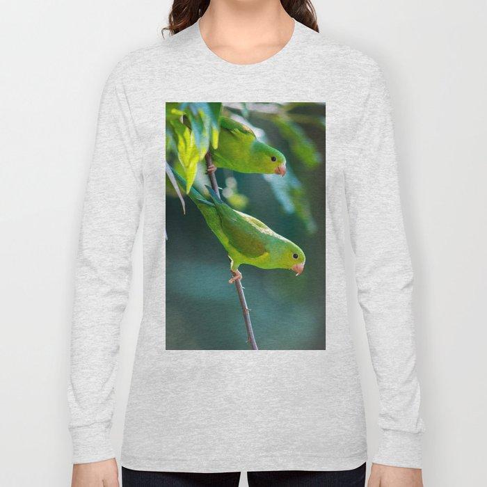 Parakeet Long Sleeve T-shirt