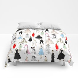 Audrey Fashion Whimsical Layout Comforters