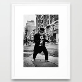 Flappin Jack _Philadelphia Mummers Series Framed Art Print