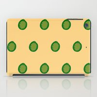 lime iPad Cases featuring lime by D.J.D