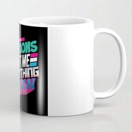 Cool Eightees Design Coffee Mug