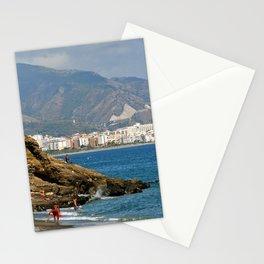 Penoncillo Beach Torrox Costa Nerja Spain Stationery Cards