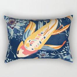 The Lotus Pond Rectangular Pillow