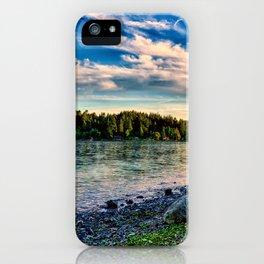 Manitou Beach Bainbrige Island iPhone Case