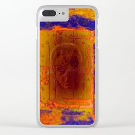 Door to the hell Clear iPhone Case