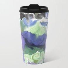 Lilac Garden Metal Travel Mug