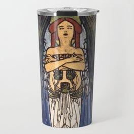 """Koloman (Kolo) Moser """"The art"""" Travel Mug"""