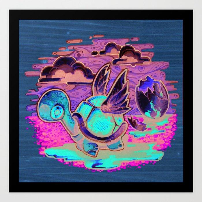 """Life Will Find A Way"" Art Print"