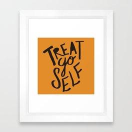 Halloween Treat Yo Self Framed Art Print