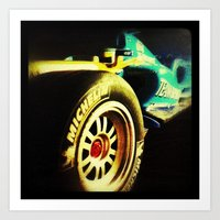 formula 1 Art Prints featuring Formula 1 by frenchtoy
