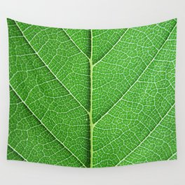 Green Vein Life Wall Tapestry