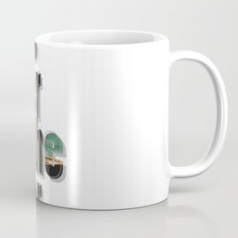 I drowned  in the water and the water was cold. Coffee Mug