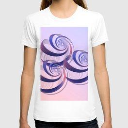 connected spirals T-shirt