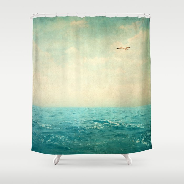 Beach Scene Shower Curtain by deborahlehman | Society6
