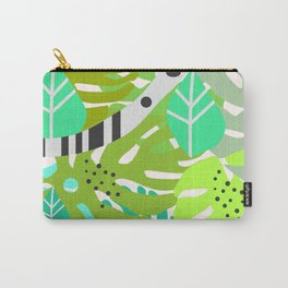 Green quiet jungle Carry-All Pouch