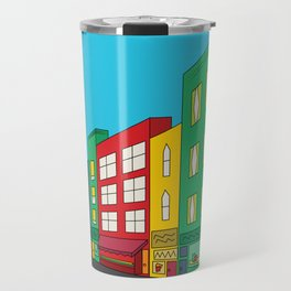 Single Shopping Street Travel Mug