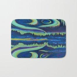 Yellowknife Aurora Bath Mat