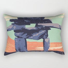 Torngat Mountains National Park Poster Rectangular Pillow