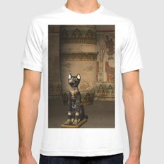 Egypt temple  Mens Fitted Tee White MEDIUM