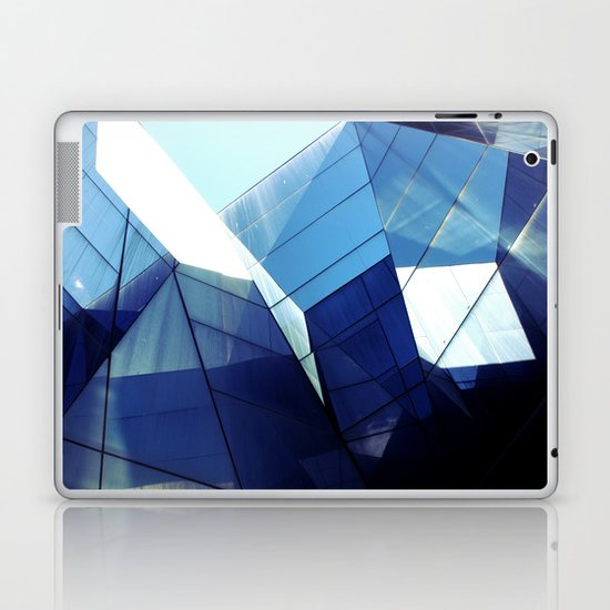 Diamond Glasses Laptop & iPad Skin