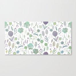 Wild Bloom Canvas Print