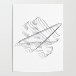 Neverending lines Poster