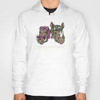 bebop Hoodies featuring Bebop & Rocksteady Henchmen Academy  by Fanboy30