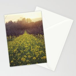 Vineyard Sunset Stationery Cards