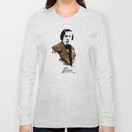Frederic Chopin - Polish Composer, Pianist Long Sleeve T-shirt