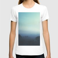 fog T-shirts featuring Fog by MARY SCHUMACHER
