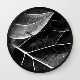 B&W-Botanical01 Wall Clock