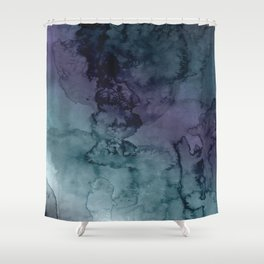 Energize - Mixed media painting Shower Curtain