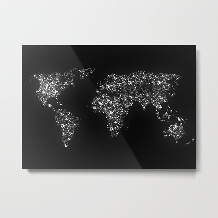 Tiny light spec in the great big universe Metal Print