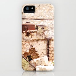 253. Abandoned Factory, Greece iPhone Case