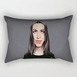 Celebrity Sunday ~ Alanis Morissette Rectangular Pillow