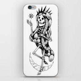 Catrina over the moon iPhone Skin