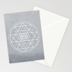 Sacred Geometry - Align At Your Center Stationery Cards