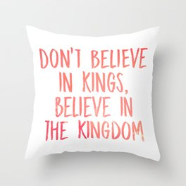Believe in the Kingdom - Chance the Rapper Throw Pillow