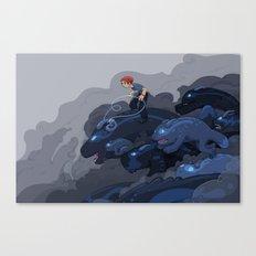 Rainy Day Activities Canvas Print