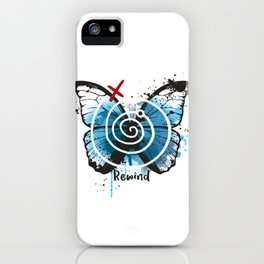 Rewind butterfly life is strange iPhone Case