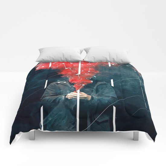 Chemical Distortion Comforters