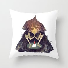 Forest Lord Throw Pillow
