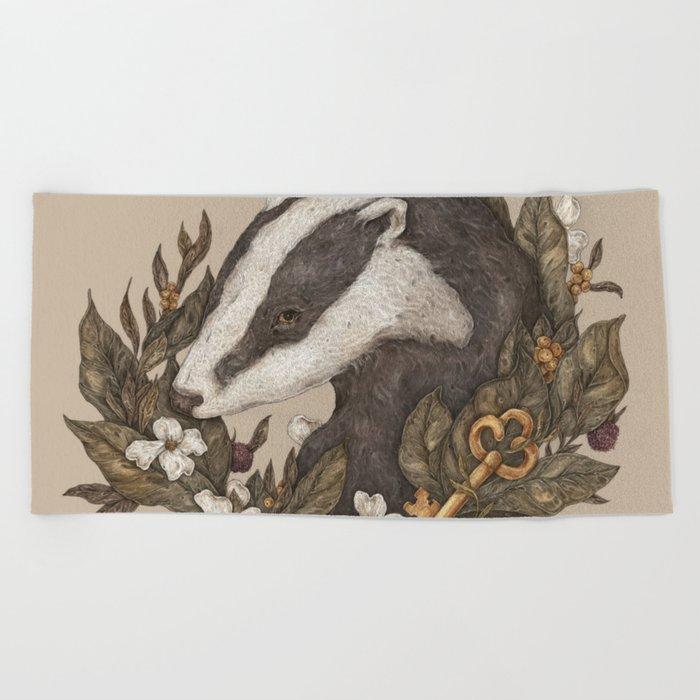 Badger Beach Towel