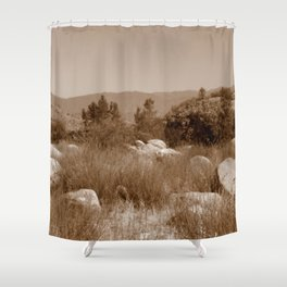 The Scenic Route Shower Curtain