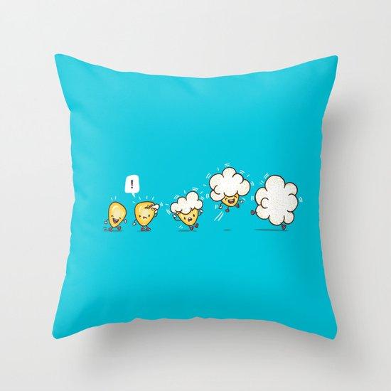 Microwavolution  Throw Pillow