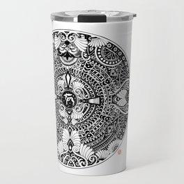deer mandala Travel Mug