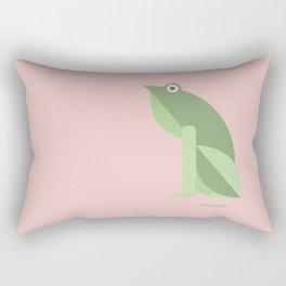 Croak Rectangular Pillow